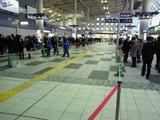 品川駅の非常線