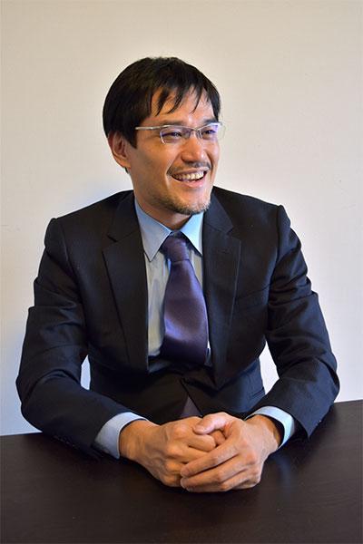 サイバーテック、代表取締役 橋元 賢次(顔写真)