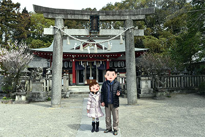 機物神社(はたものじんじゃ)