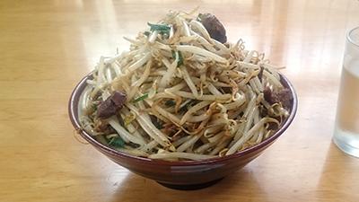 前田食堂の肉そばの写真
